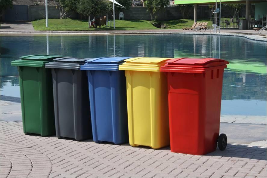 Botes de basura Plastic Omnium