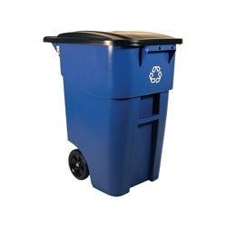 Contenedor con Ruedas 189.3 Lts con logo de reciclaje clave 9W27-73