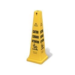 Cono de Seguridad c/impresion -Caution- dif. Idiomas