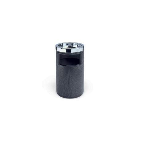 Cenicero/Basurero con recipiente metalico