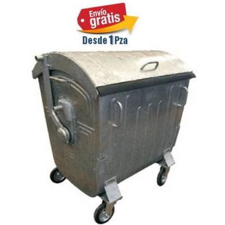 Contenedor Metalico de 1100lts Tapa Curva marca ESE